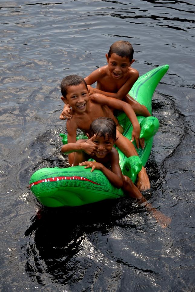 kids on the croc
