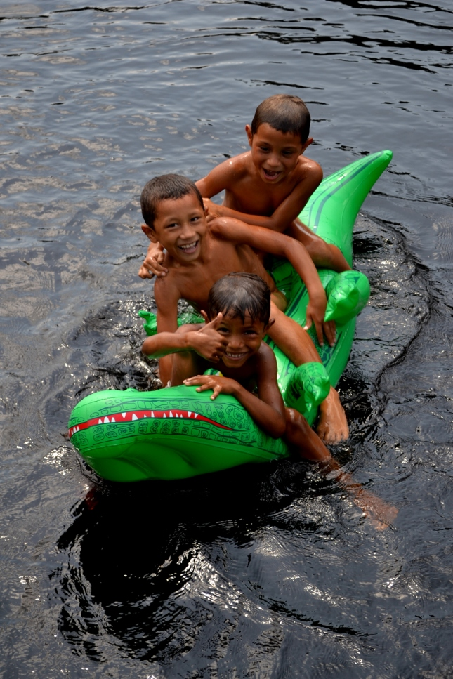 kids on the croc