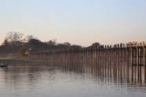 The world's longest teak footbridge