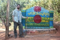 Arriving at Pankam Village