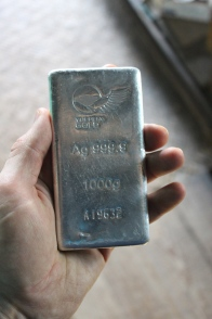 A kilogram of Silver