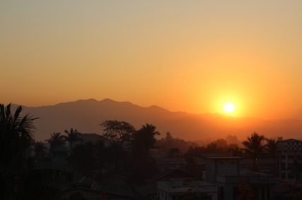 Sunrise in Mandalay