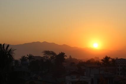 Sunrise in Mandalay