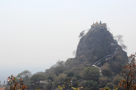 Monastry near Mt Popa