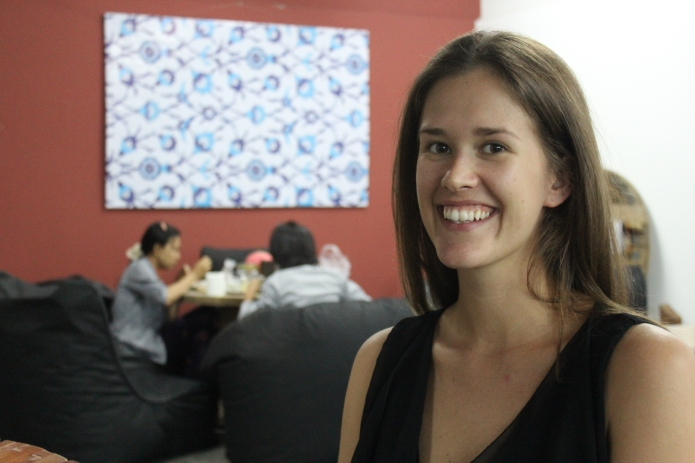 Project Hub Yangon Co-founder, Allison Morris